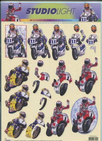 Studiolight 3d-kuva ratamoottoripyörät