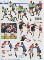 Lesuh 3d-kuva jalkapalloa