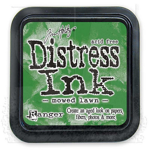 Distress ink leimamuste Mowed Lawn