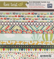 MME paperikko Lime twist 6x6