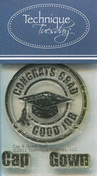 Technique Tuesday leimasetti Cap & Gown seal