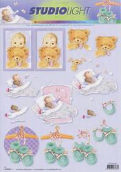 Studiolight 3d-kuvat vauvat ja tossut