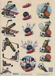 Amy Design 3d-kuva keilailua, pallopelejä, talviurheilua