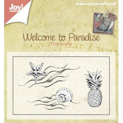 Joy Craft leimasinsetti Welcome to paradise 0397