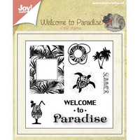 Joy Craft leimasinsetti Welcome to paradise 0398