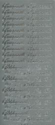 Ääriviivatarrat Hääparille, Kihlaparille hopea Starform 1612