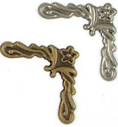 Metallikoristeet koristeelliset kulmat