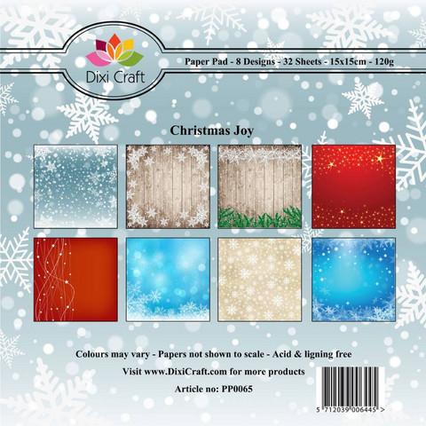 Dixi Craft paperikko Christmas joy 6x6