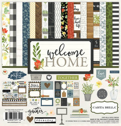 Carta bella collecktion kit paperisetti Welcome home 12x12