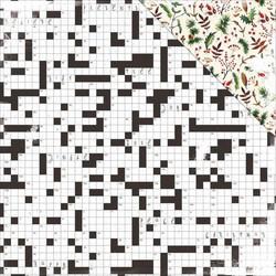 KaiserCraft skräppipaperi home for christmas mistletoe 12x12