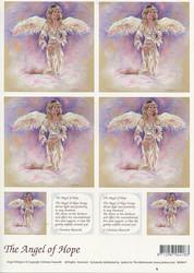 Korttikuvat enkelit The angel of hope a4