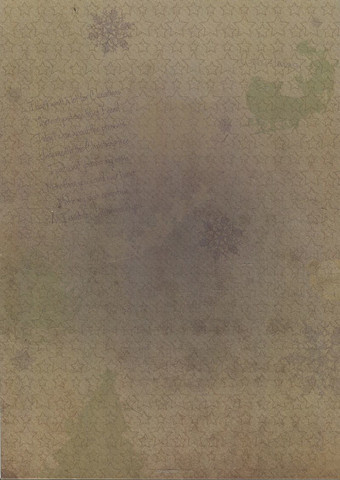 Joulupaperi ruskea tähdet&tekstiä a4/2kpl