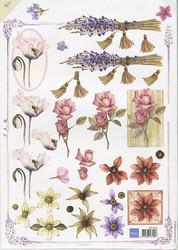 MD 3d-kuvat Mattie kukat