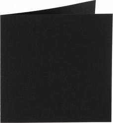 Neliökorttipohjat 13,5x13,5cm/10kpl Musta