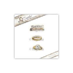 Magnolia leimasin Ceremony Ring Kit