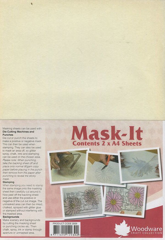 Mask-it maskaus kalvopaperi a4/2kpl