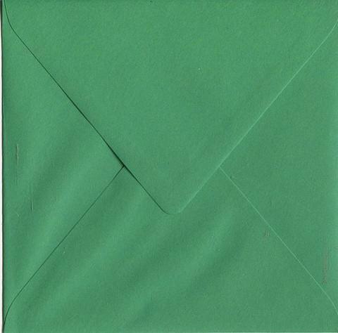Neliökirjekuoret vihreä 14x14cm 10kpl