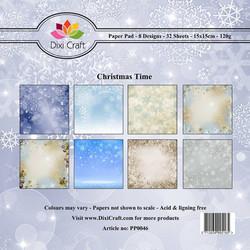 Dixi Craft paperikko Christmas Time 6x6