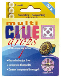 Jeje Multi glue drops liimapisarat 8mm/80kpl