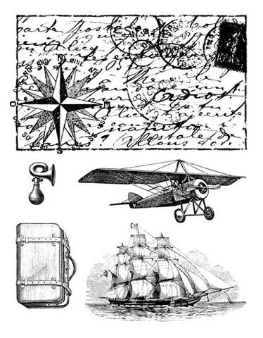 Artemio leimasetti travel matkustaminen, meri