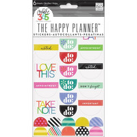 Crate365 The happy planner tarrat 6kpl To Do, Brights