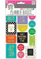 Crate365 The happy planner tarrat 6kpl Hustle, Bright