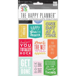 Crate365 The happy planner tarrat 6kpl Get It Done