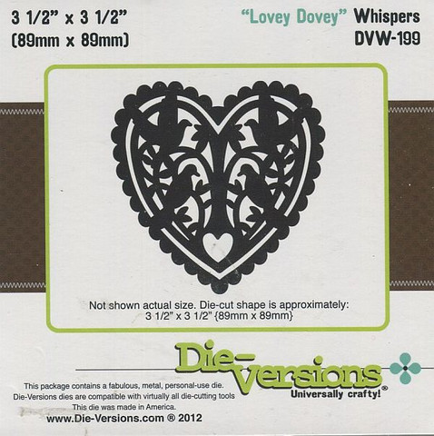 Stanssi Lovey Dovey Whispers Die-versions