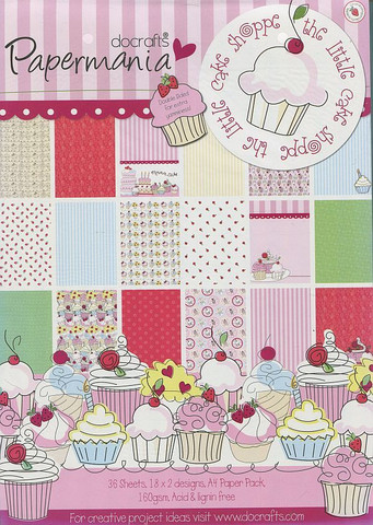 Paperisetti The Little Cake Shoppe Papermania a4