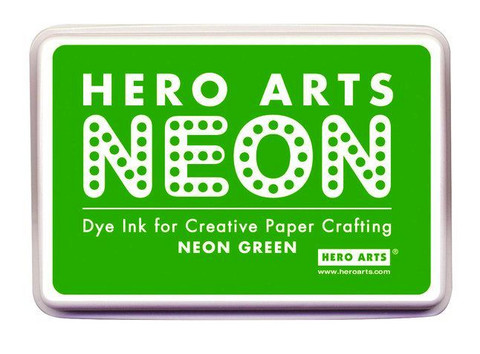 Hero Arts leimamuste Neon Green
