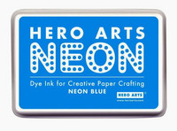 Hero Arts leimamuste Neon Blue