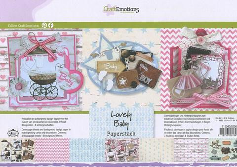 Kortteilukirjanen Lovely Baby a4 CE