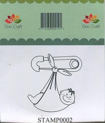 Dixi Craft leimasin vauva