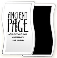 Ancient Page leimamuste Coal Black