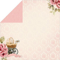 KaiserCraft paperi Pitter Patter Special delivery 12x12