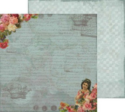 Reprint paperi as time goes by Flowergirl