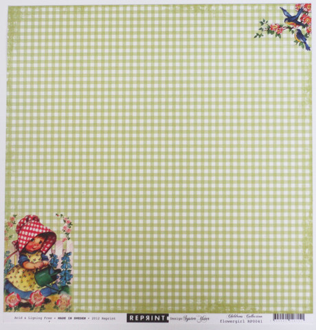 Reprint paperi Childrens Flowergirl