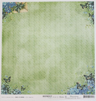 Reprint paperi Joy of spring bluebutterflies