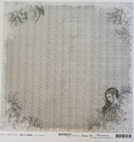 Reprint paperi Joy of spring greybutteflies