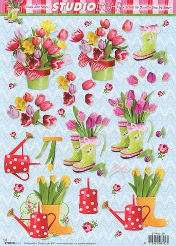 Studiolight 3d-kuvat tulppaanit ja kukkasaappaat