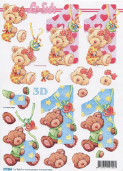 Lesuh 3d-kuvat 1-vuotiaalle