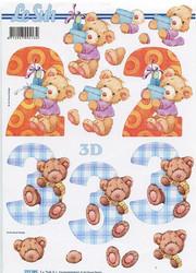 Lesuh 3d-kuvat 2 ja 3-vuotiaalle
