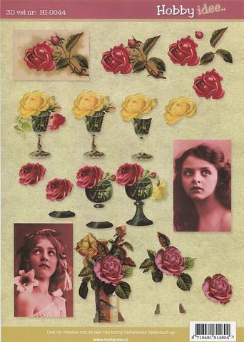 Hobby idee 3d-kuvat Vintage 44