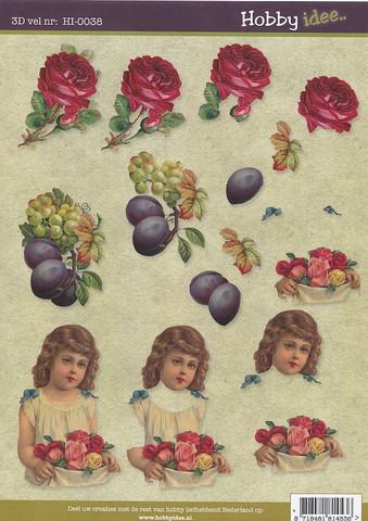 Hobby idee 3d-kuvat Vintage 38