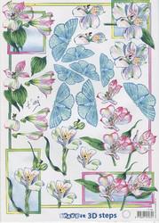 Marianne Design 3d-kuvat inkaliljat ja perhoset