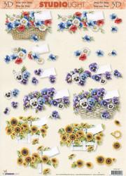 Studiolight 3d-kuvat upeat kukkakorit