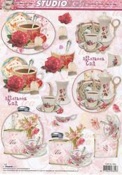 Studiolight 3d-kuvat teetä ja kukkia 25