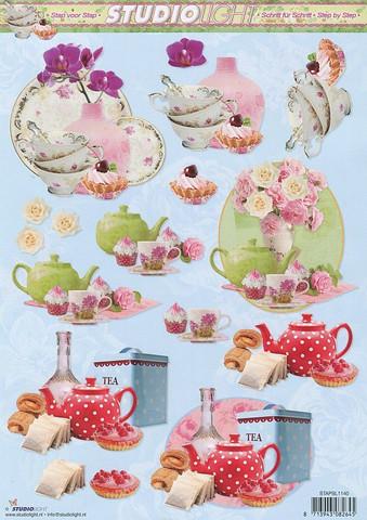 Studiolight 3d-kuvat teetä, herkkuja ka kukkia 40