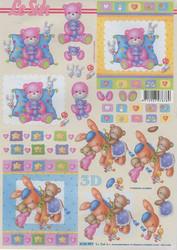 Lesuh 3d-kuvat vauvan lelut