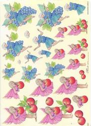 Mireille 3d-kuvat omena- ja rypälekeiju